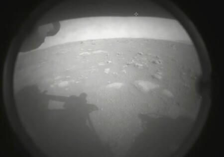 Fotografía de Marte tomada por el róver Perseverance