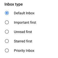 Gmail añade todos los tipos de bandeja de entrada a su app para Android