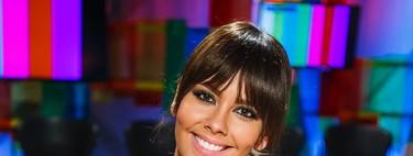 Cristina Pedroche vuelve a apostar por el flequillo... pero esta vez postizo