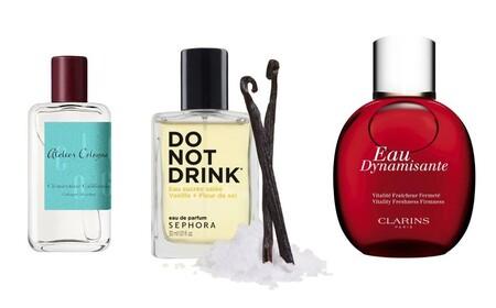 perfumes naturales de Atelier Cologne, Sephora y Clarins