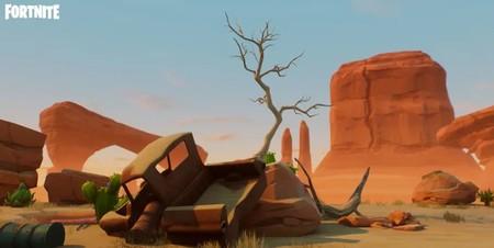 Desafío Fortnite: dónde conseguir el Fortbyte 28 resolviendo el rompecabezas de coincidencia de patrón en un vertedero del desierto. Solución
