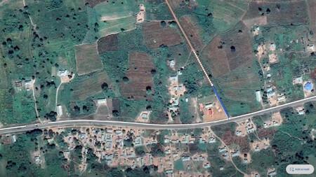 Google Maps falta carretera