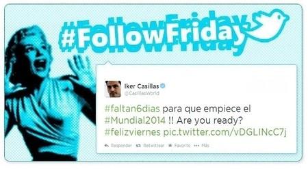 #FollowFriday de Poprosa: entre selfies y partidos de Roland Garros... llega La Roja