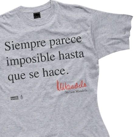 Camiseta Mandela