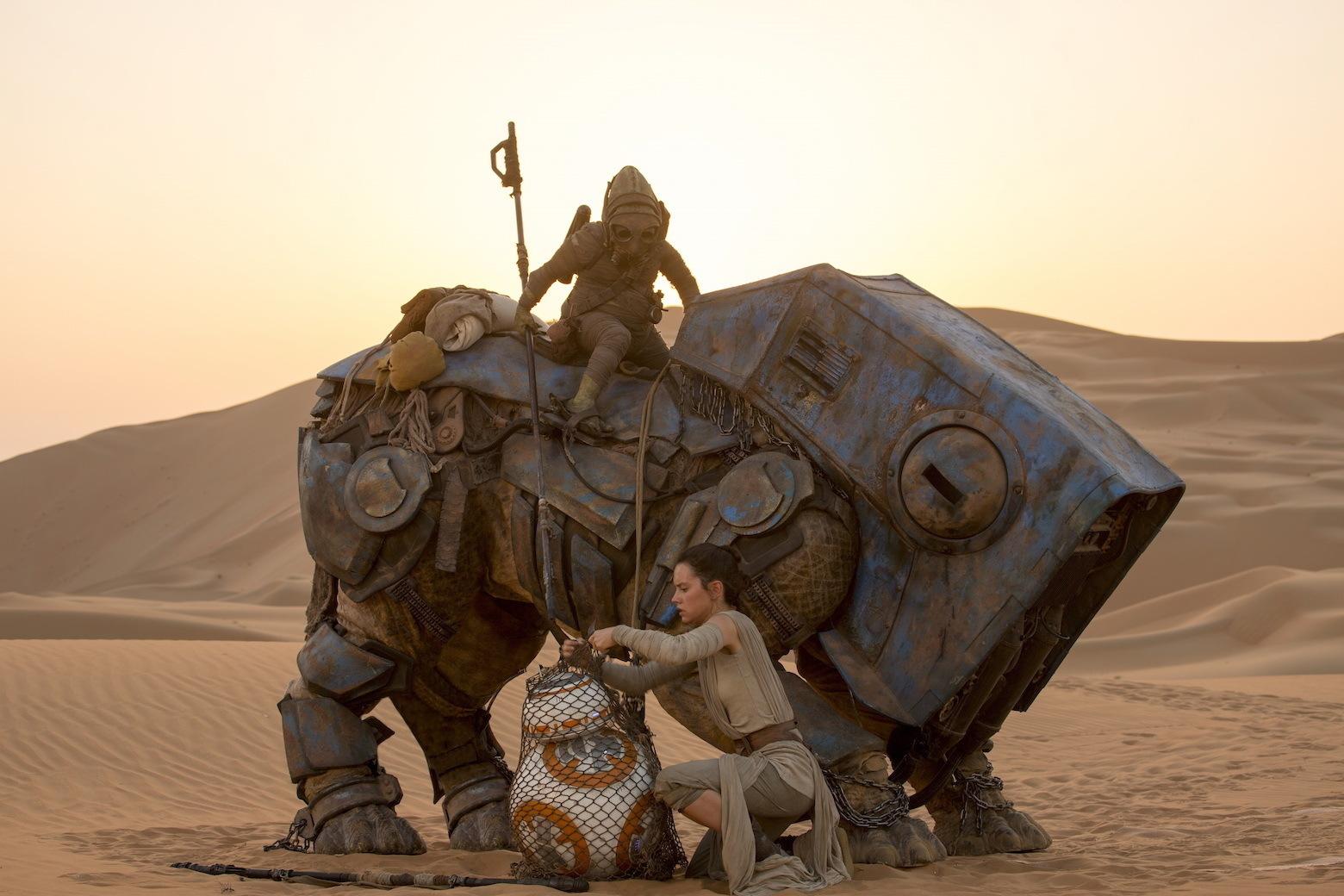 Foto de Los protagonistas de 'Star Wars: El despertar de la fuerza' (9/17)