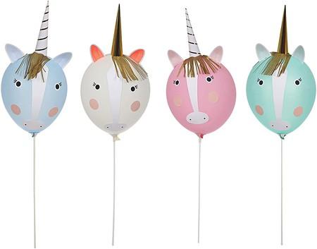 Globos unicornio