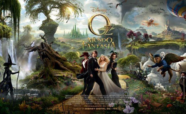 Cartel de Oz: Un Mundo de Fantasía