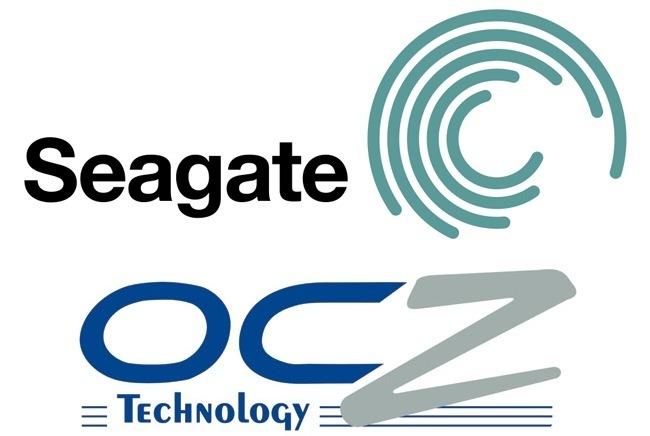Seagate OCZ logos
