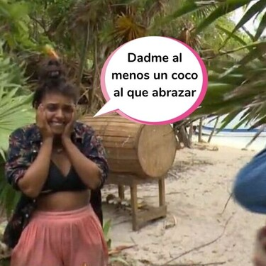 El emocionante (y bilingüe) reencuentro entre Palito Dominguín y su novio en 'Supervivientes': Harry se hace un curso intensivo de español para sorprenderla