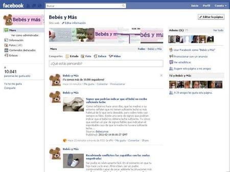 Bebés y más en Facebook: ¡ya somos 10.000!