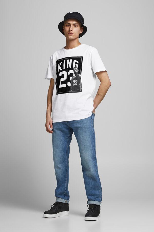 Camiseta Kobe Bryant, Leron Ellis y Michael Jordan