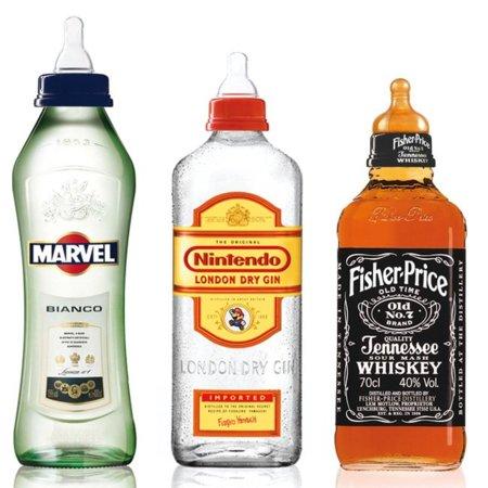 Biberones Alcohol