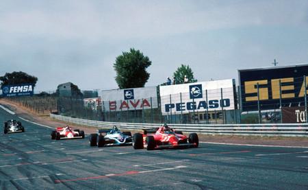 Llegada GP España 1981 Jarama