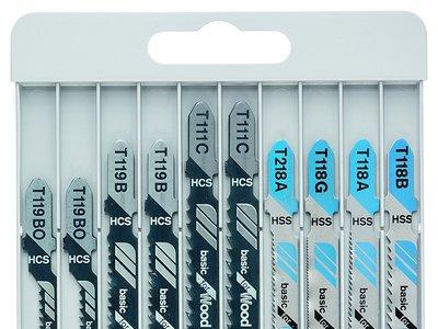 Por sólo 8,02 euros tenemos este set de diez sierras para caladora Bosch  en Amazon