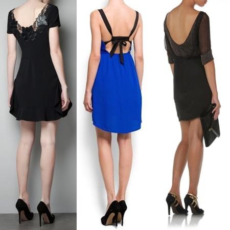 vestidos escote espalda