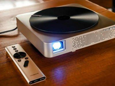 Aurora quiere aunar proyector y centro de entretenimiento multimedia en un solo dispositivo