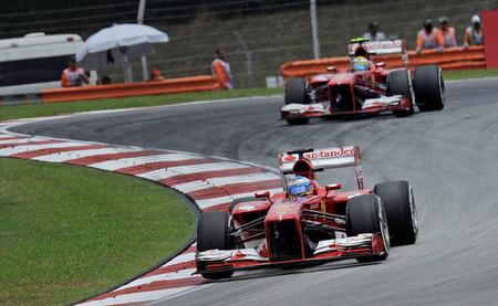 Fernando Alonso saldrá desde la tercera posición, de nuevo detrás de Felipe Massa