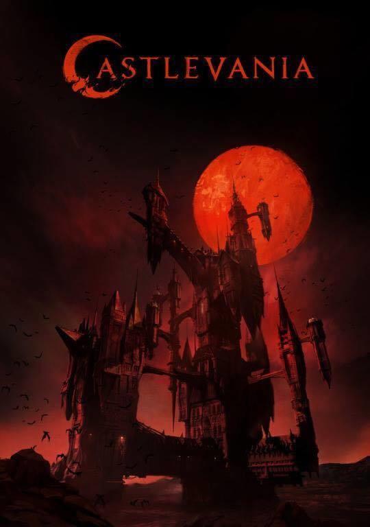 Castlevania Netflix Poster