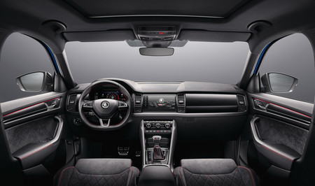 Skoda Kodiaq RS interior