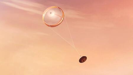 El paracaídas de Perseverance llevaba a Marte un mensaje oculto que han desvelado en Twitter gracias a saber Python