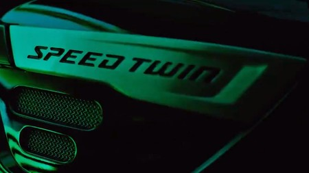 Triumph Speed Twin 2019 Teaser 2