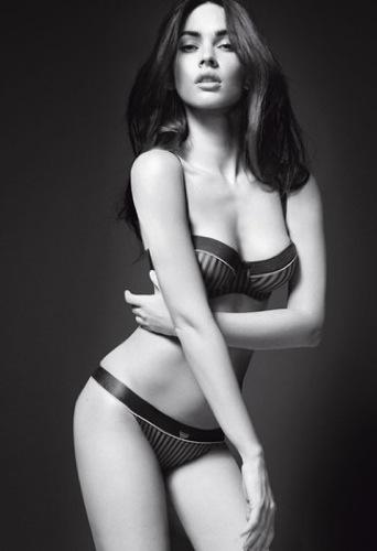 Megan Fox explosiva en lencería para Armani Underwear: todas las imágenes de la campaña, conjunto
