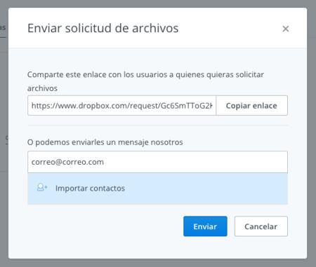 Dropbox Solicitud 3