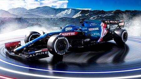 La presentación del Alpine A521 dejó dudas sobre qué coche se encontrará Fernando Alonso en su vuelta a la Fórmula 1