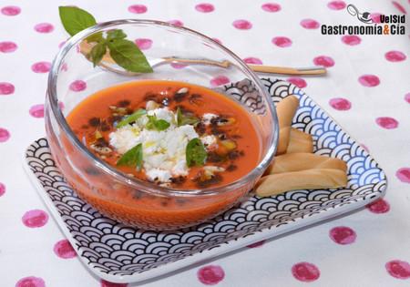 Gazpacho Cabra Albahaca2