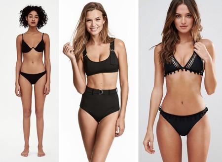 Bikini Color Negro 02