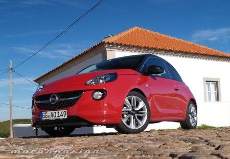 Opel Adam, presentación y prueba en Lisboa