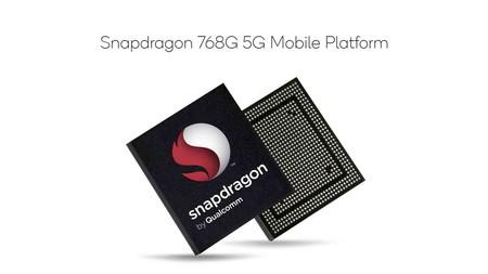 Qualcomm Snapdragon 768G: el nuevo procesador 5G para gama media con soporte a pantallas de 120Hz, gaming HDR y cámaras de 192 mpx