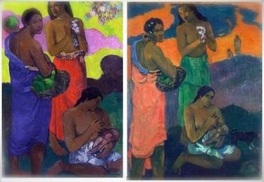 """""""La maternidad"""", de Paul Gauguin"""