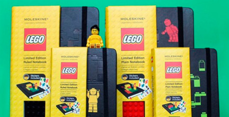 Moleskine Lego, una unión perfecta