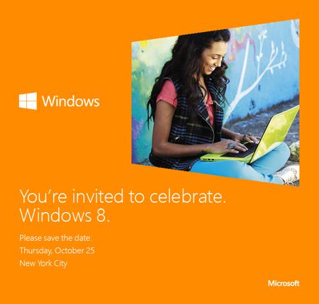 Es oficial, WIndows 8 llega el 25 de Octubre