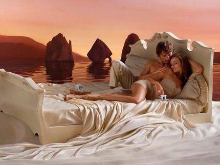 Olivia Wilde se mete en la cama con su marido... ¡y nos lo deja ver!