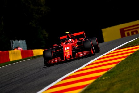 Leclerc Spa F1 2020
