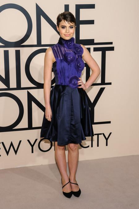 Sami Gayle en la fiesta One Night Only de Giorgio Armani en Nueva York, Octubre 2013