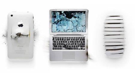 Destruir los productos de Apple también es arte