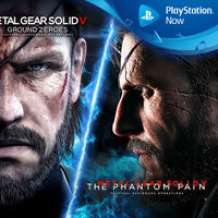 Metal Gear Solid V, Shadow Complex y Star Wars: Bounty Hunter entre los juegos de PS Now en abril