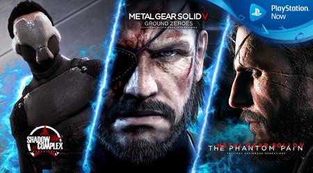 Metal Gear Solid V, Shadow Complex y Star Wars: Bounty Hunter entre los juegos de PS Now en abril