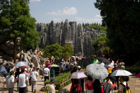 Karst de Shilin: el bosque de Piedra en China