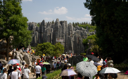 Karst de Shilin: el bosque de Piedra en China
