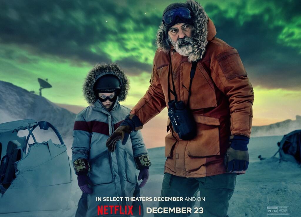 'Cielo de medianoche': George Clooney presenta su visión del fin del mundo en Netflix con una película que no está a la altura de su ambición
