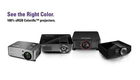 Los proyectores BenQ Colorific prometen entregar el color justo como lo queremos ver