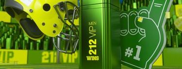 212 VIP WINS de Carolina Herrera, la fragancia con la que la adrenalina del deporte se hace presente