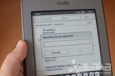 Kindle touch paso de páginas