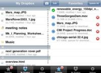 Dropbox ahora está disponible para iPhone/iPod Touch