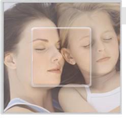 Personaliza los interruptores con fotos de tus hijos