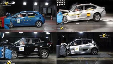 Novedades EuroNCAP: BMW Serie 3, Peugeot 208, Hyundai i30 y Mazda CX-5.